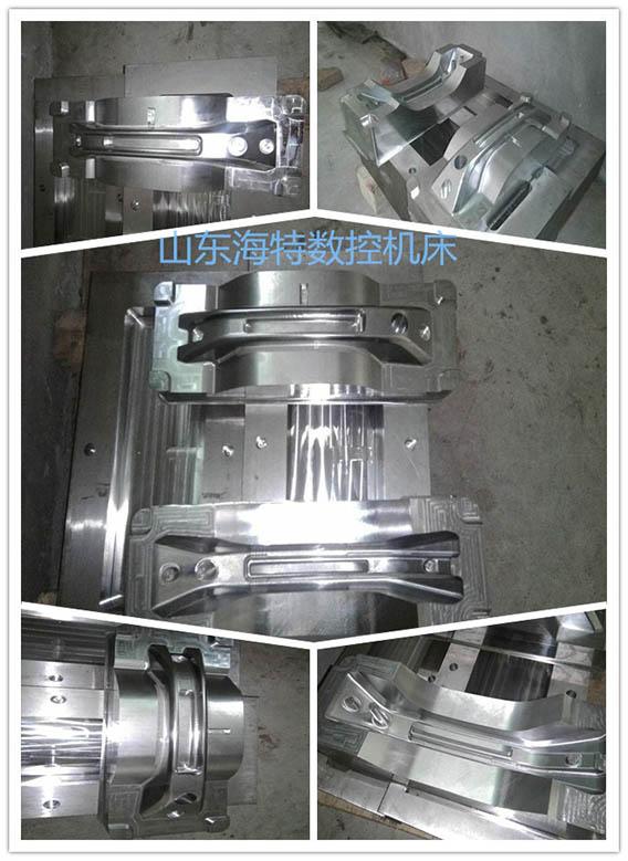 台湾新代VMC850加工中心加工案例