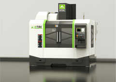 XH750四轴加工中心,支持四轴联动